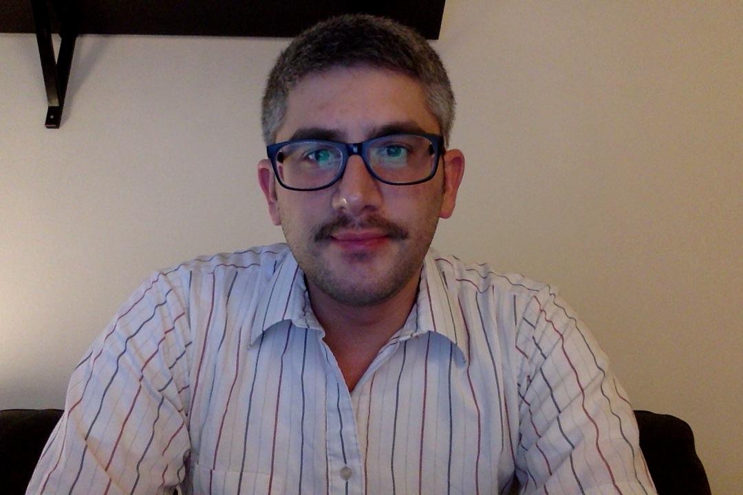 Day twenty of Movember 2013.