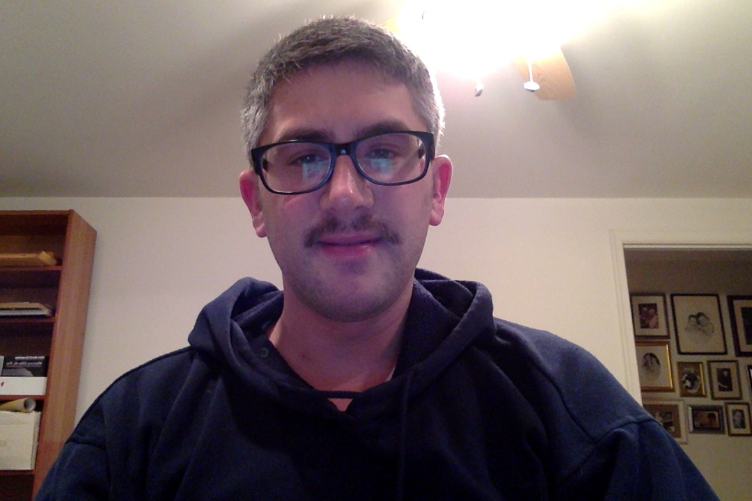 Day twenty-seven of Movember 2013.