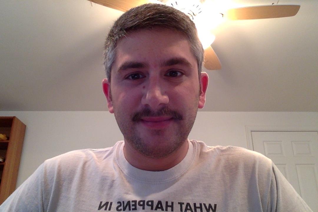 Day twenty-nine of Movember 2013.