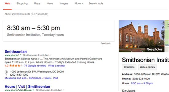 Knowledge graph, top right